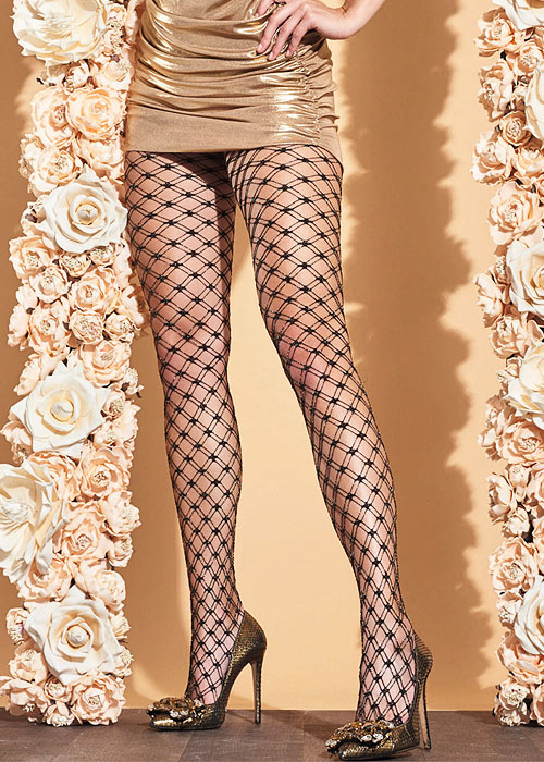 Trasparenze Buttercup Net Tights