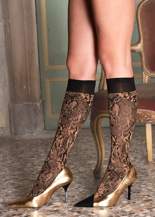 Trasparenze Chimera Knee Highs