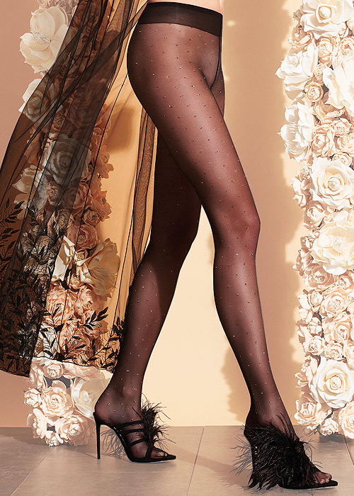 Trasparenze Geranium Tights