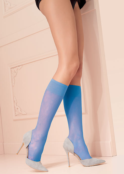 Trasparenze Grazia Coloured Knee Highs 2 Pair Pack