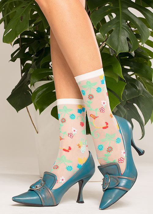 Trasparenze Nespola Fashion Socks