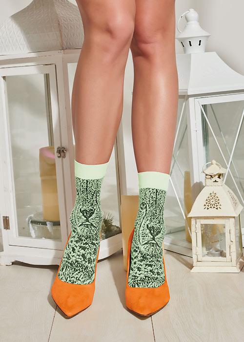 Trasparenze Nocciola Socks