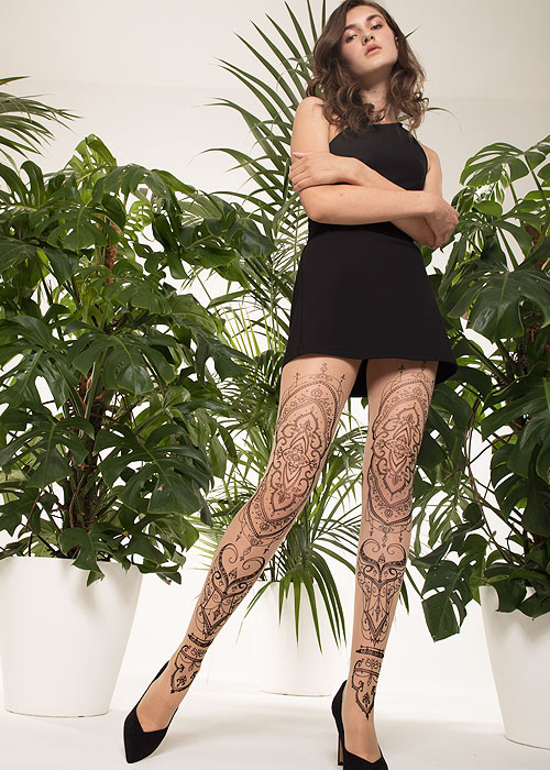Trasparenze Papaya Fashion Tights