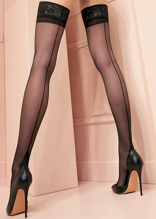 Trasparenze Pennac Seamed Hold Ups