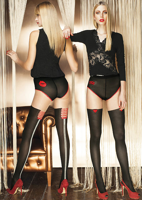 Trasparenze Pirite Tights