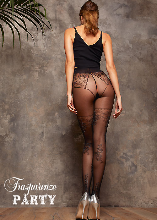 Trasparenze Platano Fashion Tights