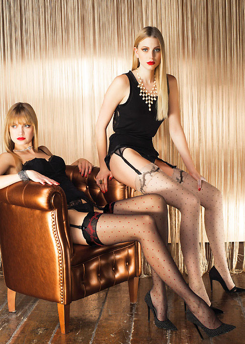 Trasparenze Rame Stockings
