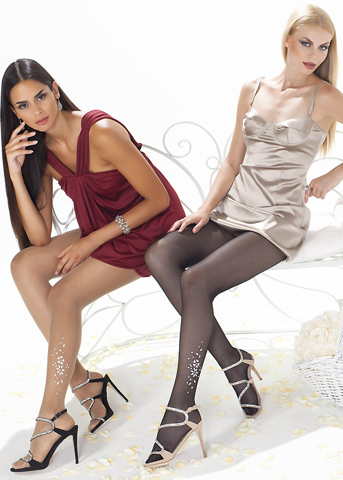 Trasparenze White Lady Tights