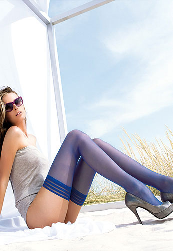 Trasparenze Valentina Coloured Hold Ups