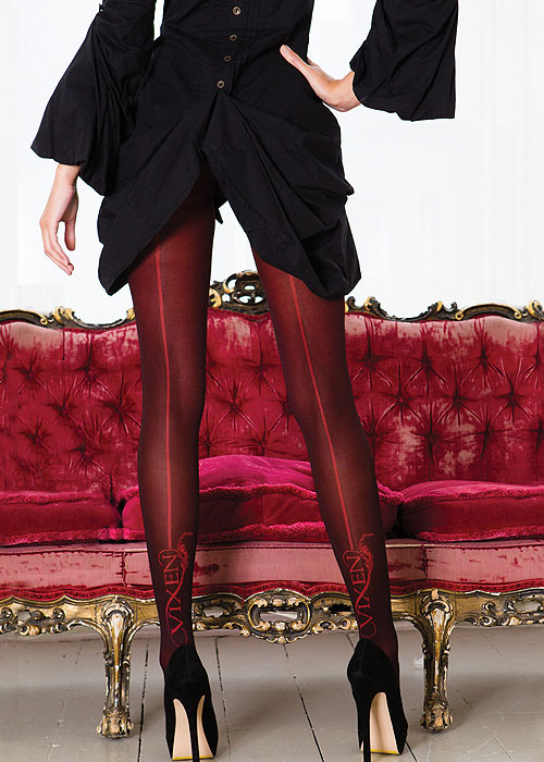 Vixen Brigitte Backseam Tights