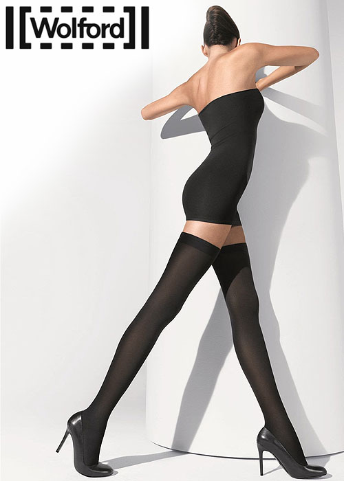 Wolford Fatal 80 Seamless Hold Ups Zoom 2