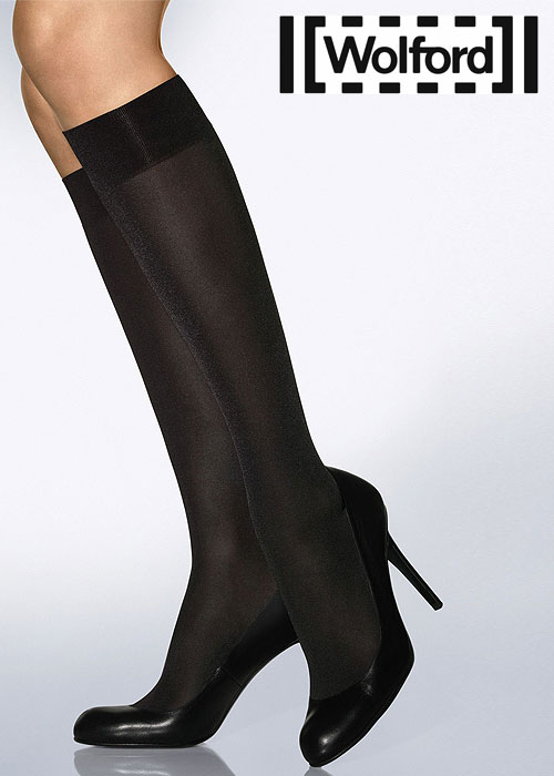768b28762a8 Wolford Satin Opaque 50 Knee Highs In Stock At UK Tights