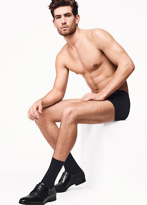 Wolford Cotton Velvet Mens Socks