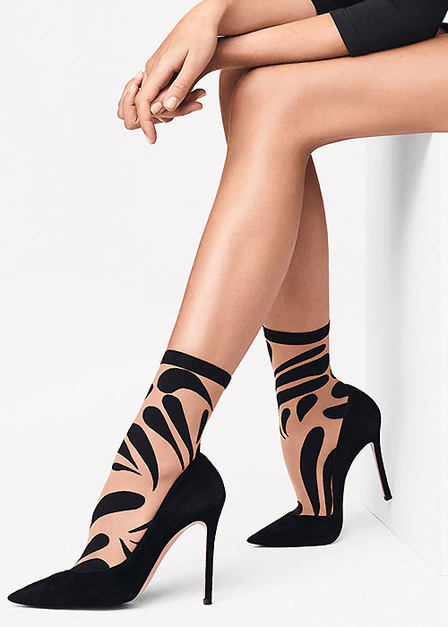 Wolford Droplet Ankle Highs