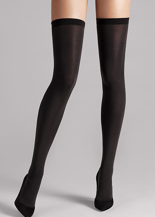 Wolford Fatal 80 Seamless Hold Ups