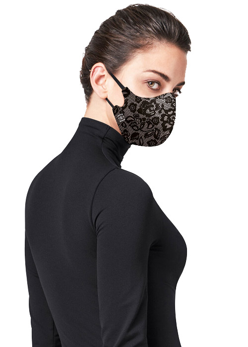 Wolford Lace Silk Face Mask