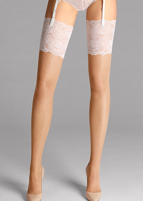 Wolford Lace Stockings