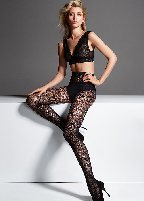 Wolford Lace Tights