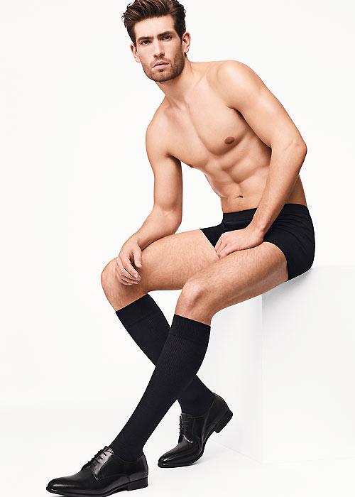 Wolford Long Distance Mens Knee Socks