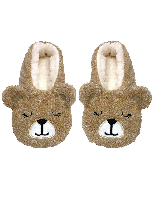 Bramble Animal Lined Slippers