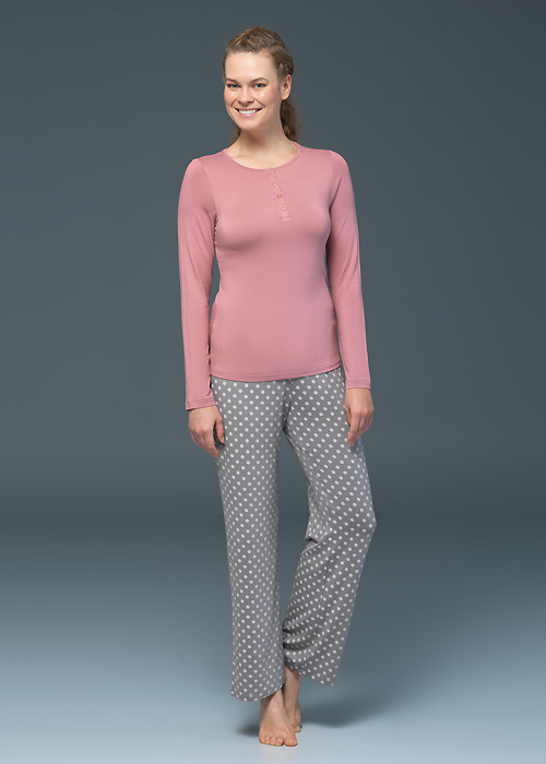 Blackspade Noir Olivia Long Sleeve PJ Set