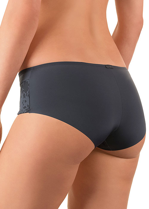 Felina Conturelle Solid Flower Shorty Brief Zoom 2