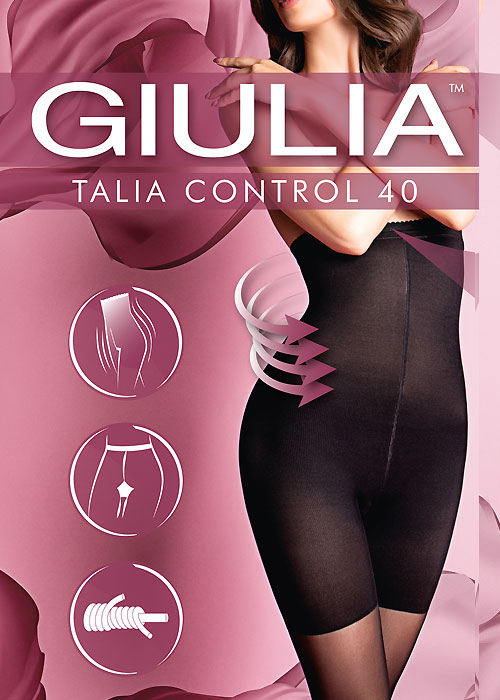 Giulia Marea Knee High Socks 40 Denier 2 pair pack Black or Tan available