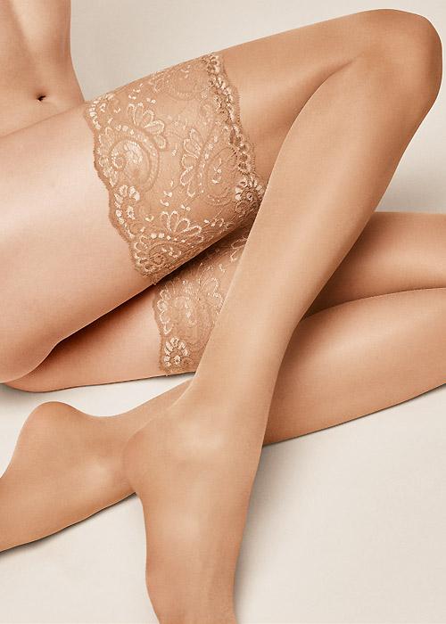 Kunert Satin Look 20 New Lace Hold Ups