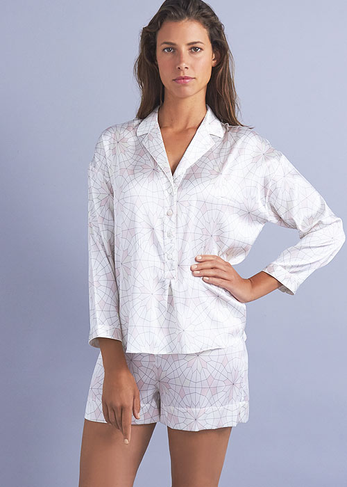 Mimi Holliday Seychelles Silk Pyjama Shorts Set