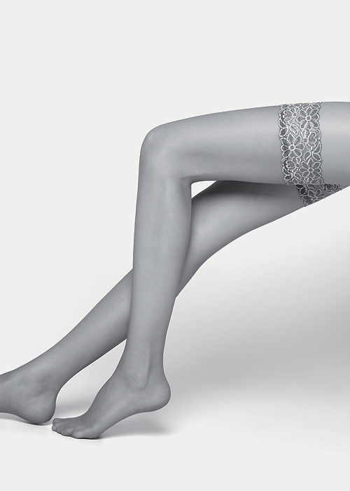 Max Mara Parigi Lace Top Hold Ups