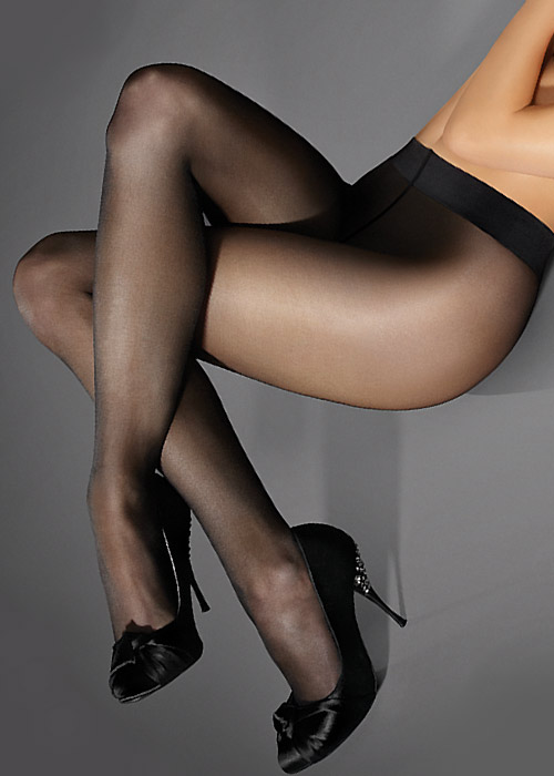 Marilyn Lux Line Naked 20 Tights