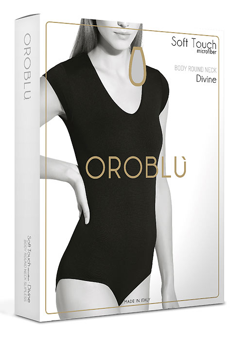 Oroblu Soft Touch Divine Round Neck Body  Zoom 2