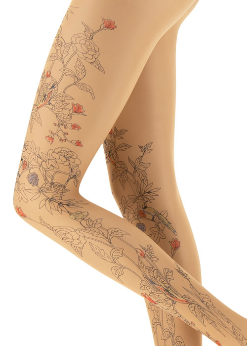 Oroblu Tropical Tattoo Tights Zoom 2