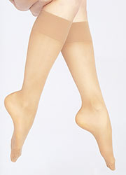 Andrea Bucci 30 Denier Support Knee Highs Zoom 2