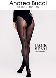 Andrea Bucci Backseam Semi Opaque Tights