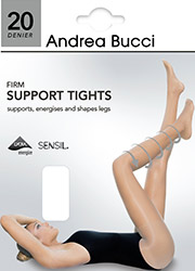 Andrea Bucci Firm Support 20 Denier Tights Zoom 2