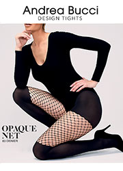 Andrea Bucci Opaque Net Tights Zoom 1