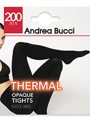 Andrea Bucci Thermal Opaque Tights Zoom 2