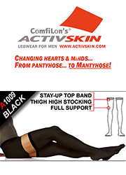 Activskin Thermofabric Support Opaque Hold Ups (A1009) Thumbnail