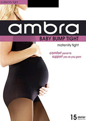Ambra Baby Bump 15 Denier Sheer Tights