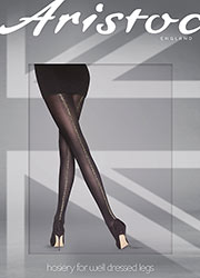 Aristoc Glitter Backseamed Tights