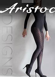 Aristoc Leaf Design Fashion Tights Zoom 2