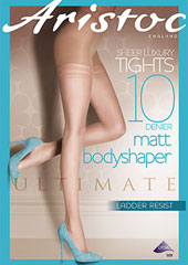 Aristoc 10 Denier Ultimate Matt Bodyshaper Tights Zoom 1