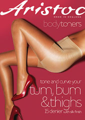 Aristoc Bodytoners Tum Bum and Thigh Low Leg Toner Tights