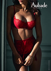 Aubade A L Amour Darling Rouge Waist Cincher Zoom 4