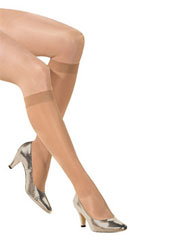 Bahner 140 Denier Extra Firm Support Knee Highs
