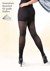 Bahner Plus Line 80 Denier Support Opaque Tights