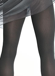 Bahner Stripes Ribbed Support Tights Zoom 2