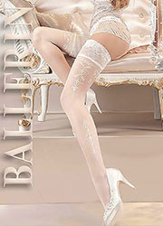 Ballerina Thetis Pearl Lace Top Hold Ups Zoom 2