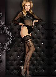 Ballerina Erato Diamond Top Hold Ups